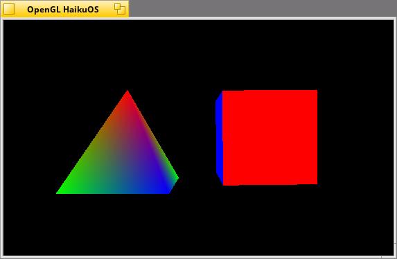 OpenGL in Haiku - glaux and Textures - Application - Haiku