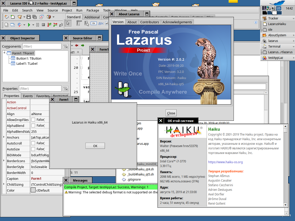 Lazarus_x64_in_Haiku