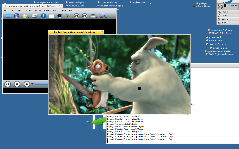 Improving VLC 2 2 8 for Haiku - Software - Haiku Community