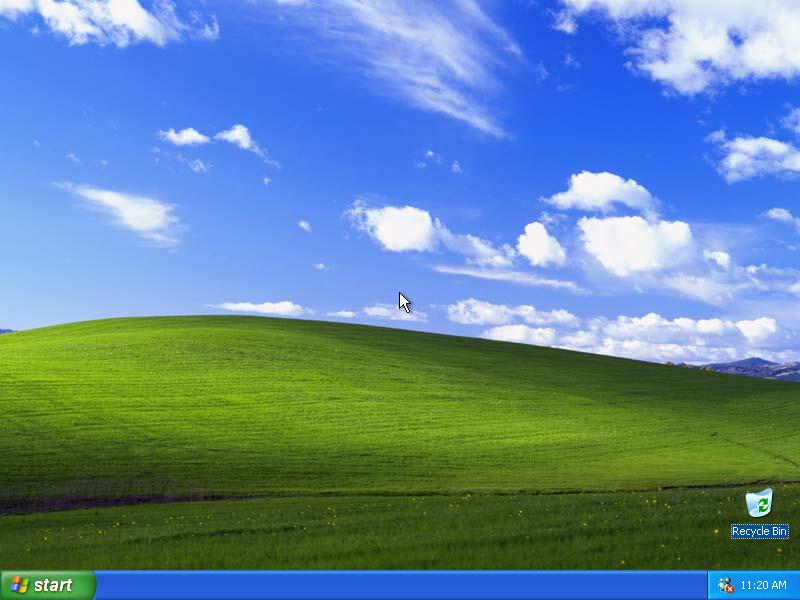 windowsxpemptydesktop