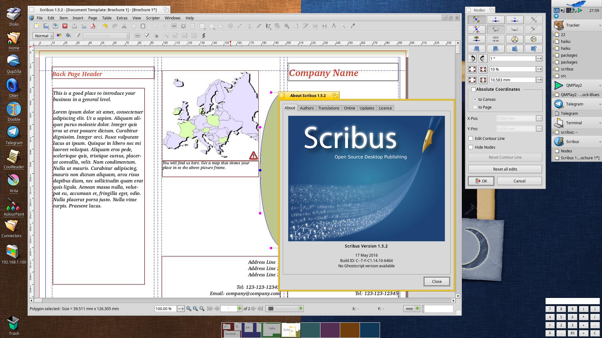 Scribus Portable 147 desktop publishing Released
